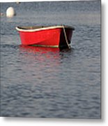 Red Dingy - Rye Harbor New Hampshire Usa Metal Print