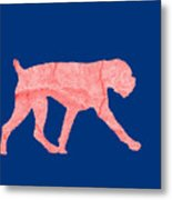 Red Dog Tee Metal Print