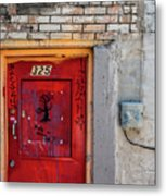 Red Door 325  Metal Print