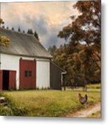 Red Door Farm Metal Print
