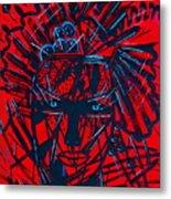 Red Exotica Metal Print
