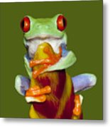 Red Eyed Delight Metal Print