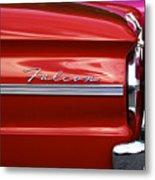 Red Falcon Metal Print