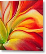 Red Fire Metal Print
