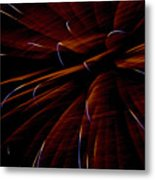 Red Flare Metal Print