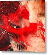 Red Gloves Metal Print by Svetlana Sewell
