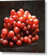 Red Grapes Metal Print