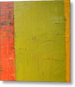 Red Green Yellow Metal Print
