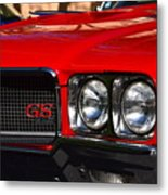 Red Gs Metal Print