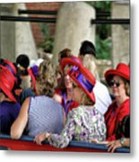 Red Hat Day Metal Print