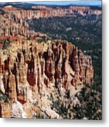 Red Hoodoos Of Bryce Canyon National Park Metal Print