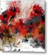 Red Hope  Metal Print