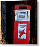 Red Hot Gasoline Metal Print