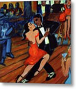 Red Hot Tango Metal Print