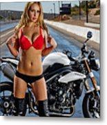 Red Is Not Always For Ducati Metal Print