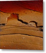Red Lake Metal Print