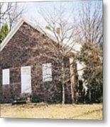 Red Land Quaker House Metal Print