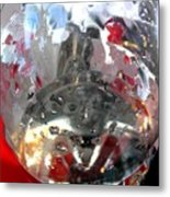 Red Lantern And Soda Water 7 Metal Print