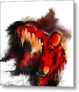 Red Man Metal Print