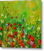 Red Poppies 450708 Metal Print