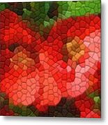 Red Quince Metal Print