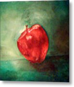 Red Red Apple Metal Print