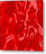 Red, Red Lava Metal Print