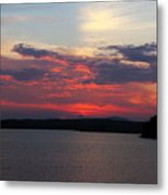 Red Red Red  Metal Print