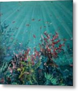 Red Reef  2006   Metal Print