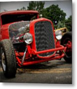 Red Ride 2 Metal Print