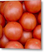 Red Ripe Tomatoes Metal Print by John Trax