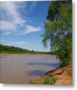 Red River Gainesville Texas East Metal Print