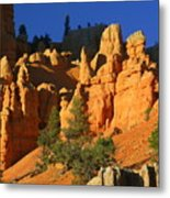 Red Rock Canoyon At Sunset Metal Print
