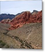 Red Rock Canyon 1 Metal Print
