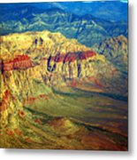 Red Rock Canyon Nevada Metal Print