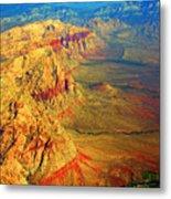 Red Rock Canyon Nevada Vertical Image Metal Print