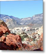 Red Rock Canyon Nv 8 Metal Print