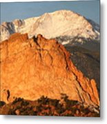 Red Rock Metal Print by Eric Glaser