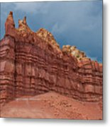Red Rock Formation Metal Print