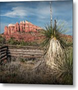 Red Rock Formation In Sedona Arizona Metal Print