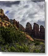 Red Rock Landscape From Sedona Arizona Metal Print