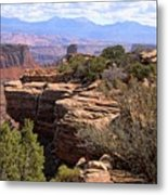 Red Rock Vista 2 Metal Print