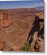 Red Rock Vista Metal Print