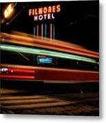Red Rocket 7 Metal Print