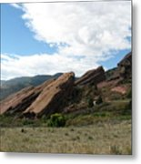Red Rocks Denver Metal Print