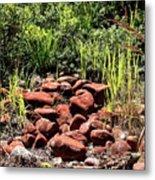 Red Rocks Metal Print