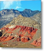 Red Rocks Nevada Metal Print