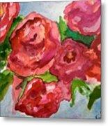 Red Roses, Red Roses Metal Print