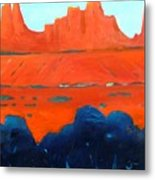 Red Sedona Metal Print