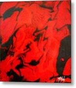 Red Series No. 1 Metal Print